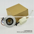 Daei Brand 3w LED Downlight Recessed indoor COB Chip light for free shipping  5