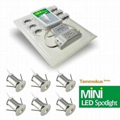 Daei Brand Patent Products Temmokus Series China manufacture mini LED 6pcs/lot