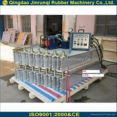 rubber conveyor belt joint machine