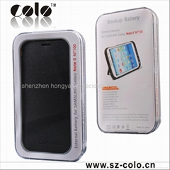new good 3200 mah battery cover for samsung galaxy note 2