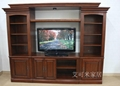 艾可米家居進口實木電視櫃組合  3