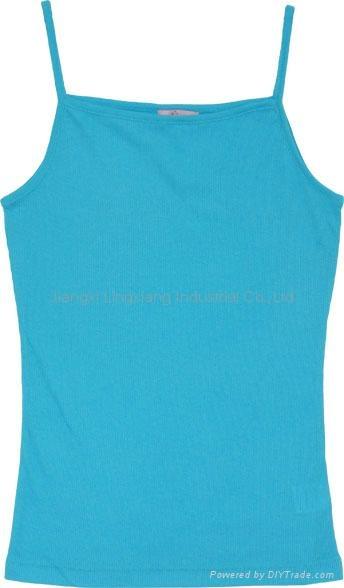women rib lingerie in plain color, lady slim underwear 1