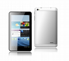 7 inch MTK6572 dual core 3G tablet PC  with GPS function