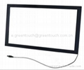 55 inch USB Infrared Multi touch overlay
