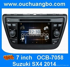 Newest special car auto DVD GPS for Suzuki SX4 2014 (Hot Product - 1*)