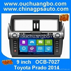 Stereo gps DVD player for Toyota Prado 2014   (Hot Product - 1*)