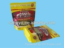 Laminated 3 Sides Seal Bag For 2.5kg Food With Tear Notch