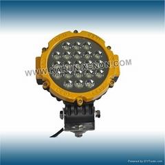 63W power led work light for tractor 63W led work light