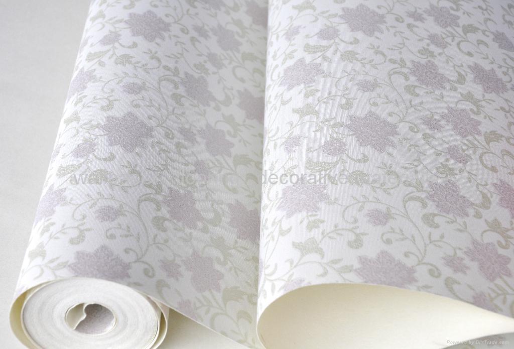 pvc wallpaper decorative wallpaper dibolo china
