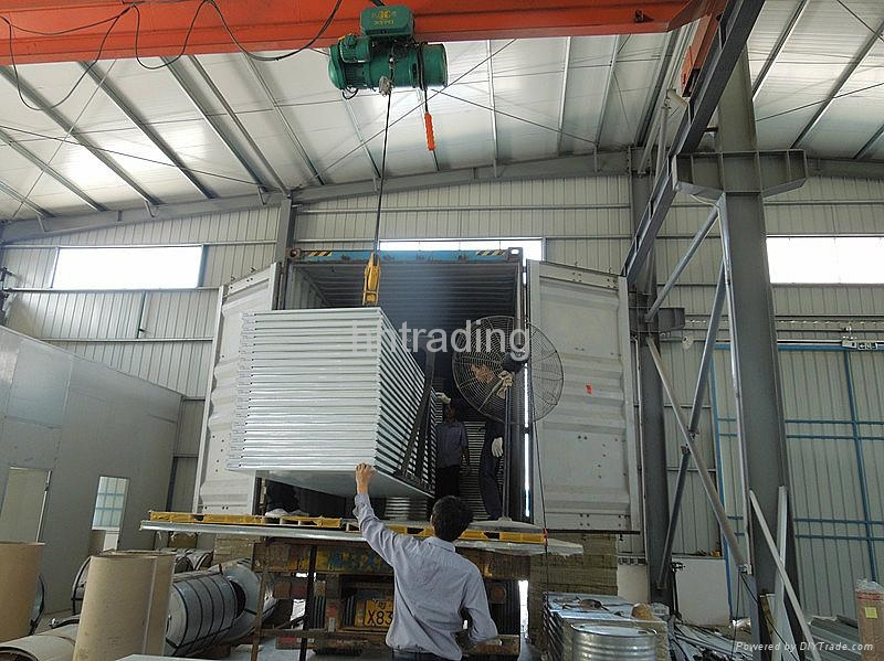 Rock wool roof sandwich panel 2