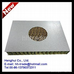 Paper honeycomb sandwich panel