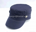 Wholesale blue washed cotton embroidery army uniform h 5
