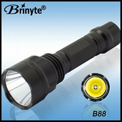 Brinyte High Power 860 lumens Rechargeable Cree Led Flashlights BR-B 88