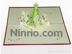 Babyprayer - 3D Pop up Christmas Card