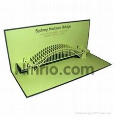 Harbour Bridge - Pop up Greeting Card
