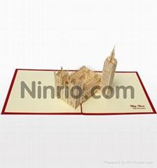 Big Ben  - 3D Pop up Greeting Card