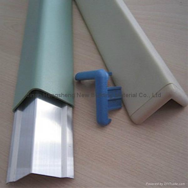 Corner Pvc Protcror : Pvc al alloy wall corner guard edge protector hs