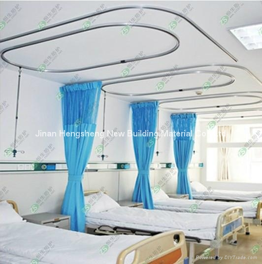 Hospital track curtains