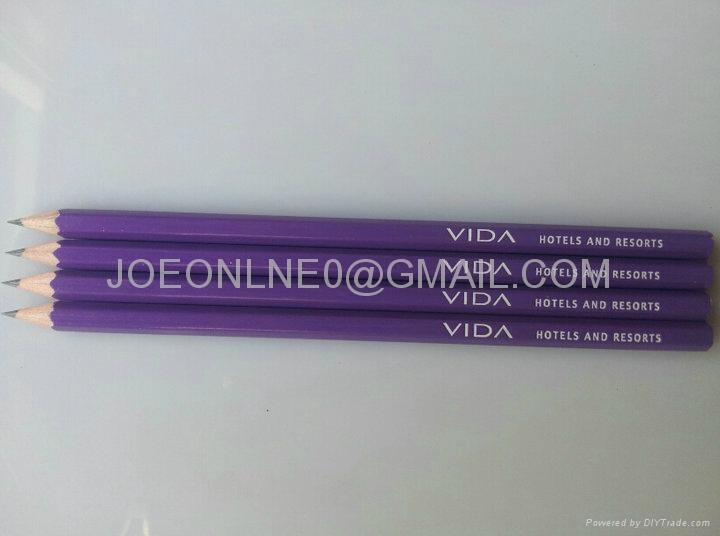 Low price HB pencil with eraser 2