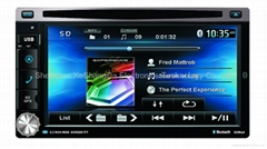 2 din universal car dvd car stereo with GPS optional