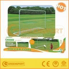 Metal football soccer goal