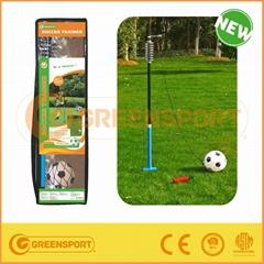 steel tube rotor spin football soccer trainer