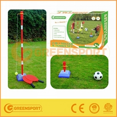 Tether tennis & soccer trainer