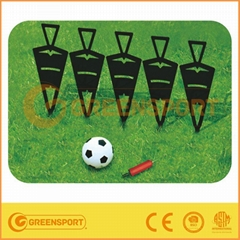 PVC Cone with football Soccer training set