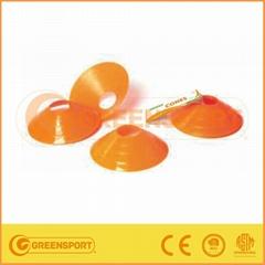 plastic sports training soccer disc cones