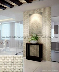 Natural Marble Mosaic Tiles Mixed Color