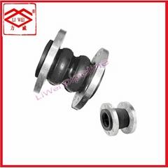 水泵出口专用双球体可曲挠橡胶接头