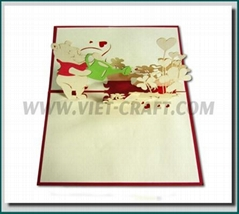 3D Handmade greeting card