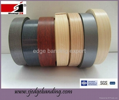 environemental PVC wood edge banding for panel-type furniture