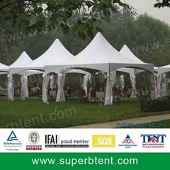 hot sale waterproof wedding pagoda tents