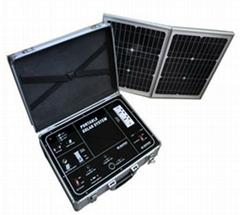 500W solar suitcase solar power system