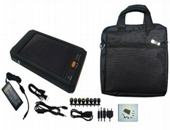 High power solar charger bag for laptop