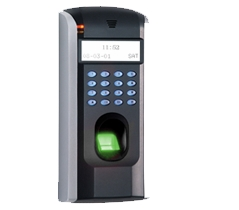 Large Display RFID Biometric Reader Access Control System