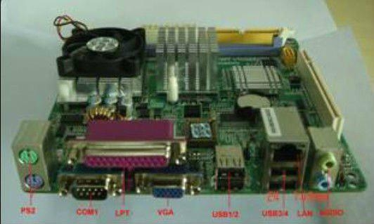 mini itx fanless motherboard with Intel CPU PCM5-CLE266M 1