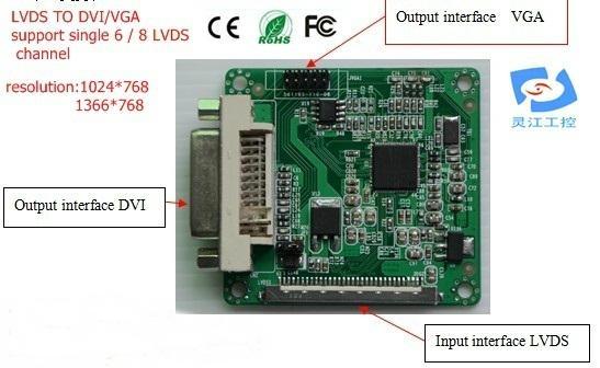 DS TO DVI/VGA signal converter (LDVGA01) 1