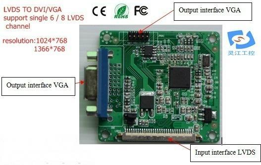 DS TO DVI/VGA signal converter (LDVGA01) 2