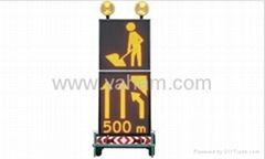 Portable LED Traffic VMS Control Signs