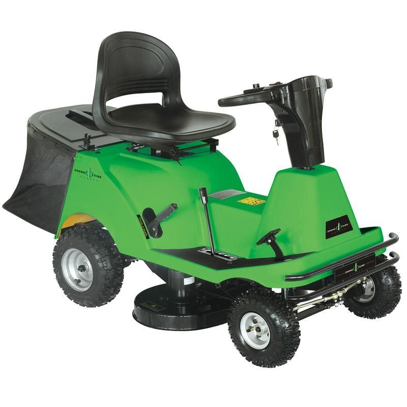 Electric rid on Lawn Mower with CE 4