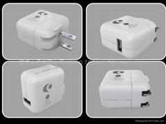 折疊插腳英規歐規美規PSE BSMI認証電源充電器適配器