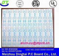Aluminum Star Base Plate Circuit Board/High Power LED PCB