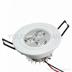 好品质 LED天花筒灯3W