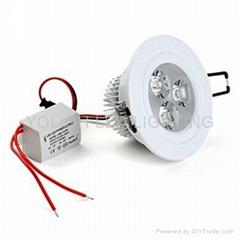 3w 冷光天花筒灯 进口芯片 寿命长