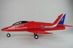 TW 750 EPO Red Arrow rc Jet