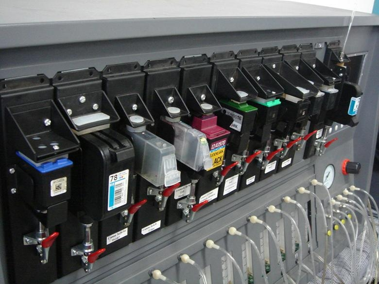 ink cartridge refilling machine