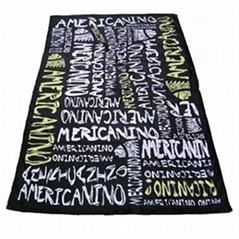 100% Cotton Monogrammed Beach Towels