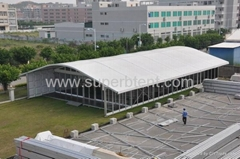 20mx40m Functional Curved Tent for Business Event